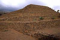 Spanien, Kanarische Inseln, Teneriffa, Gülmar, Pyramiden von Chacona