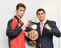 Boxing: Signing ceremony prior to title bout