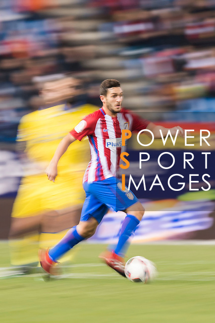 """Jorge Resurreccion Merodio """"Koke"""" of Atletico de Madrid in action during their Copa del Rey 2016-17 Round of 16 match between Atletico de Madrid and UD Las Palmas at the Vicente Calderón Stadium on 10 January 2017 in Madrid, Spain. Photo by Diego Gonzalez Souto / Power Sport Images"""
