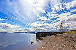 Chanonry Point Lighthouse, Black Isle, Scotland.<br /> <br /> Image by: Malcolm McCurrach    © Malcolm McCurrach 2014    Insertion and use fees apply    All rights Reserved. picturedesk@nwimages.co.uk   www.nwimages.co.uk   07743 719366