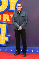 """LONDON, UK. June 16, 2019: Tom Hanks arriving for the """"Toy Story 4"""" premiere at the Odeon Luxe, Leicester Square, London.<br /> Picture: Steve Vas/Featureflash"""