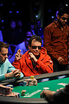 """""""Miami"""" John Cernuto hopes his hand holds after hitting his ace on the flop.  He was all in"""