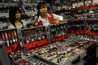 "The ""Silk Market"" in Central Beijing is proving a major tourist attraction to purchase fake designer goods ranging from clothing to watches.  <br />