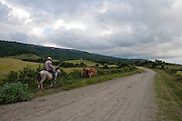 Rural scene Holguin Province, Cuba. 9-12-10  The village of Bajo bel Cerro.
