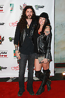 LOS ANGELES, CA, USA - OCTOBER 26: Tommy Clufetos arrive at An Evening Of Art With Billy Morrison And Joey Feldman Benefiting The Rock Against MS Foundation held at Village Studios on October 26, 2014 in Los Angeles, California. (Photo by David Acosta/Celebrity Monitor)