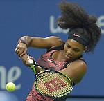 Serena Williams (USA) wins against Vitalia Diatchenko (RUS) 6-0, 2-0