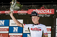 Tim Merlier (BEL/Alpecin-Fenix) remains the Bingoal Cup Series overall leader<br /> <br /> 55th Grote Prijs Jef Scherens - Rondom Leuven 2021 (BEL)<br /> One day race from Leuven to Leuven (190km)<br /> ridden over the final circuit of the 2021 World Championships road races <br /> <br /> ©kramon