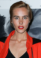 LOS ANGELES, CA, USA - OCTOBER 27: Isabel Lucas arrives at the Los Angeles Premiere Of Amplify's 'The Better Angels' held at the Directors Guild Of America on October 27, 2014 in Los Angeles, California, United States. (Photo by Xavier Collin/Celebrity Monitor)
