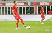 WASHINGTON, D.C. - OCTOBER 11: Tyler Boyd #21 of the United States warming up during their Nations League match versus Cuba at Audi Field, on October 11, 2019 in Washington D.C.