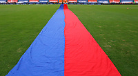 MEDELLÍN- COLOMBIA,  14-02-2021.Deportivo Independiente Medellín  y Jaguares de Córdoba en partido por la fecha 6 como parte de la Liga BetPlay DIMAYOR 2021 jugado en el estadio Atanasio Girardot  de la ciudad de Medellín. / Deportivo Independiente Medellin and Jaguares de Cordoba during match Betplay DIMAYOR League I 2021 played at  Atanasio Girardot stadium in Medellín city. Photo: VizzorImage / Donaldo Zuluaga/ Contribuidor