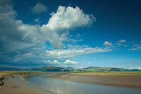 The River Bladnoch from Wigtown Bay, Wigtown, Galloway