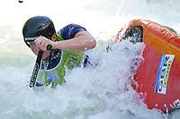 5th September 2021; Parc Olimpic del Segre, La Seu D'Urgell ICF Slalom World Cup, Women's Canoe Final;  Berthan Forrow (GBR)