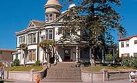 San Diego: Quartermass House, 1896. Front elevation. Built by developer Rueben Quartermass.  (Photo 1978)