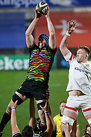 19th March 2021;   Ian Nagle during the final round of the Guinness PRO14 against Zebre Rugby held at Kingspan Stadium, Ravenhill Park, Belfast, Northern Ireland. Photo by John Dickson/Dicksondigital
