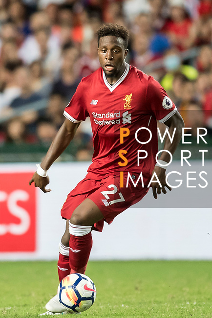 Liverpool FC forward Divock Origi in action during the Premier League Asia Trophy match between Liverpool FC and Leicester City FC at Hong Kong Stadium on 22 July 2017, in Hong Kong, China. Photo by Weixiang Lim / Power Sport Images