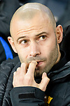 Javier Mascherano of FC Barcelona getting into the field during the La Liga 2017-18 match between FC Barcelona and Deportivo La Coruna at Camp Nou Stadium on 17 December 2017 in Barcelona, Spain. Photo by Vicens Gimenez / Power Sport Images