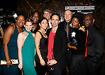 Saidah Arrika Ekulona, Anna Chlumsky, Isiah Whitlock Jr., Elizabeth Rodriguez, Kevin Geer, Trevor Long, John Doman, Yolonda Ross & Chris Chalk<br /> attending the Opening Night for the Labyrinth Theater Company's World Premiere of a New Play UNCONDITIONAL at the Public Theatre with an after party at Colors Restaurant in New York City.<br /> February 18, 2008