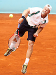 Denis Kudla, USA, during Madrid Open Tennis 2016 match.May, 4, 2016.(ALTERPHOTOS/Acero)