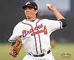 July 15, 2009: LHP Luis Avilan (51) of the Danville Braves, rookie Appalachian League affiliate of the Atlanta Braves, in a game on July 15, 2009, at Dan Daniel Memorial Park in Danville, Va. (Tom Priddy/Four Seam Images)