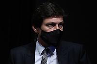 Leonardo Nascimento de Araujo ( directeur sportif PSG ) - <br /> 11/08/2021<br /> Lionel Messi al Paris Saint Germain PSG <br /> Calcio Ligue 1 2021/2022<br /> Photo Federico Pestellini/Panoramic/insidefoto <br /> ITALY ONLY
