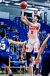 Yip Yiu Pong #35 of Nam Ching Basketball Team shoots the ball against the Winling during the Hong Kong Basketball League game between Nam Ching vs Winling at Southorn Stadium on May 11, 2018 in Hong Kong. Photo by Yu Chun Christopher Wong / Power Sport Images