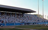 Ballparks: Toledo--Ned Skeldon Stadium, home of the Mud Hens. Seats 10,000. Photo 1997.