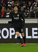 Daichi Kamada (Eintracht Frankfurt) - 20.02.2020: Eintracht Frankfurt vs. RB Salzburg, UEFA Europa League, Hinspiel Round of 32, Commerzbank Arena DISCLAIMER: DFL regulations prohibit any use of photographs as image sequences and/or quasi-video.