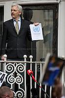 05.02.2016 - Julian Assange Speech from the Ecuadorian Embassy After UN Decision