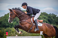Le Grand Complet 2020. Haras du Pin. CCIO4*. Jumping.  <br /> Tim PRICE (NZL). WESKO<br /> Photographie FEI / Eric KNOLL