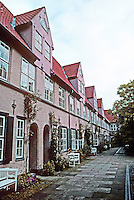 Lubeck: Fuchtingshof--Hofe are courtyards created by wealthy patrons, 1639. Rather like a London Mews. No. 25 Glockengiesserstr.