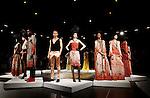 David Tlale show at Mercedes-Benz Fashion Week