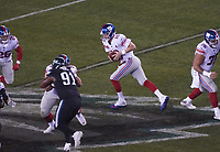quarterback Eli Manning (10) of the New York Giants - 09.12.2019: Philadelphia Eagles vs. New York Giants, Monday Night Football, Lincoln Financial Field