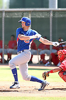 Chris Huseby - Chicago Cubs - 2010 Instructional League.Photo by:  Bill Mitchell/Four Seam Images..