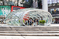 Singapore, Orchard Road MRT Mass Rapid Transit Entry Exit Point.