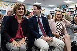 "Teodoro Garcvia Egea, Dolors Monserrat and Ana Pastor  in the presentation of the book ""Cada dia tiene su afan"" by former minister Jorge Fernandez Diaz with Mariano Rajoy<br /> October 10, 2019. <br /> (ALTERPHOTOS/David Jar)"