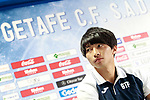 Getafe's new player Gaku Shibasaki during his official presentation.  July 21, 2017. (ALTERPHOTOS/Acero)
