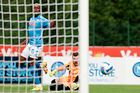 Viktor Osimhen scores a goal <br /> Dimaro 18/07/2021 <br /> Football 2021/2022 preseason friendly match between SSC Napoli and Bassa Anaunia <br /> Photo Image Sport / Insidefoto