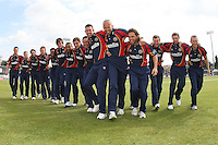 Essex CCC 2012 team photo in Friends Life T20 kit - Essex CCC Press Day at the Ford County Ground, Chelmsford, Essex - 03/04/12 - MANDATORY CREDIT: Gavin Ellis/TGSPHOTO - Self billing applies where appropriate - 0845 094 6026 - contact@tgsphoto.co.uk - NO UNPAID USE.