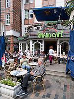 Café am Universitätsplatz  in Rostock, Mecklenburg-Vorpommern, Deutschland