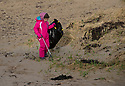 19/01/19<br /> <br /> Cadi Owen (7).<br /> <br /> Volunteers clean beaches near Cable Bay Anglesey to mark the RSPCA's 'PlastOff2019'<br /> <br /> All Rights Reserved, F Stop Press Ltd +44 (0)7765 242650  www.fstoppress.com rod@fstoppress.com