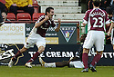 02/01/2007       Copyright Pic: James Stewart.File Name : sct_jspa01_dunfermline_v_hearts.MICHAL POSPISIL CELEBRATES SCORING HEARTS FIRST....James Stewart Photo Agency 19 Carronlea Drive, Falkirk. FK2 8DN      Vat Reg No. 607 6932 25.Office     : +44 (0)1324 570906     .Mobile   : +44 (0)7721 416997.Fax         : +44 (0)1324 570906.E-mail  :  jim@jspa.co.uk.If you require further information then contact Jim Stewart on any of the numbers above.........