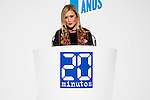 """President of the community of Madrid, Cristina Cifuentes during the main event of the XV Aniversary of the """"20Minutos"""" newspaper at Headquarters of the Community of Madrid, November 24, 2015<br /> (ALTERPHOTOS/BorjaB.Hojas)"""
