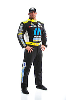 Feb 8, 2017; Pomona, CA, USA; NHRA funny car driver Matt Hagan poses for a portrait during media day at Auto Club Raceway at Pomona. Mandatory Credit: Mark J. Rebilas-USA TODAY Sports