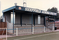 General view of Sheffield Aurora FC, Bawtry Road, Sheffield, South Yorkshire, pictured on 13th July 1991
