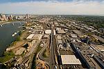 Aerial View of Portland's Central Eastside, Oregon