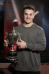 BBC Wales Sports Personality of the Year 2017 - Jonathan Davies.<br /> 25.01.18<br /> ©Steve Pope - Sportingwales