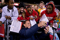 Christie Rampone, Fans. The USWNT tied New Zealand, 1-1, at an international friendly at Crew Stadium in Columbus, OH.