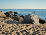 Hammonasset State Beach Park. Long Island Sound.