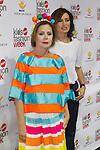 Nieves Alvarez  and Agatha Ruiz de la Prada during the Madrid Kids fashion week 2016. 22,06,2016. (ALTERPHOTOS/Rodrigo Jimenez)