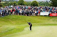 4th July 2021; Mount Juliet Golf Club, Kilkenny, Ireland; Dubai Duty Free Irish Open Golf, Day Four; Shane Lowry of the Republic of Ireland putts on the 18th green